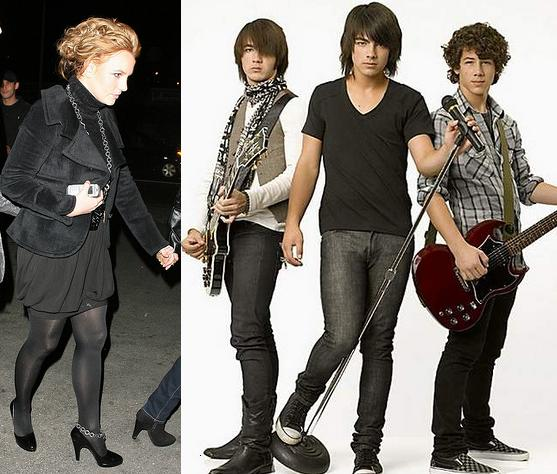 Britney Spears, Jonas Brothers
