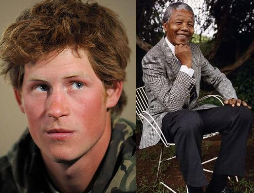 Prince Harry, Nelson Mandela