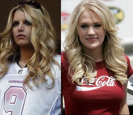 Jessica Simpson, Carrie Underwood