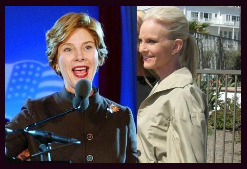 Laura Bush and Cindy McCain