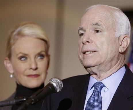 Cindy McCain and John McCain