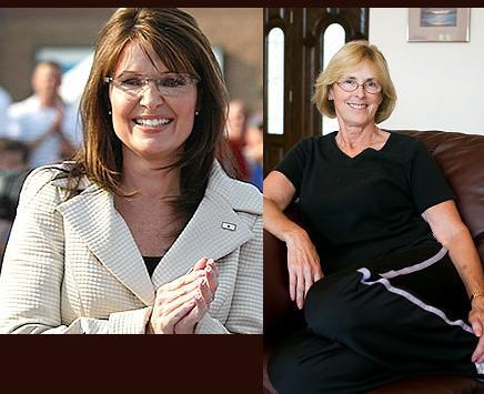 Sarah Palin and Faye Palin