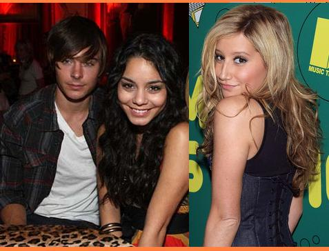 Zac Efron, Vanessa Hudgens And Ashley Tisdale