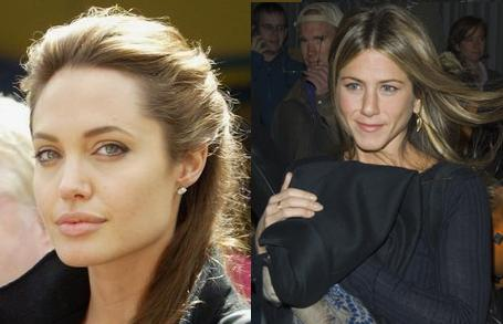 Angelina Jolie & Jennifer Aniston