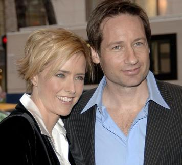 Tea Leoni And David Duchovny
