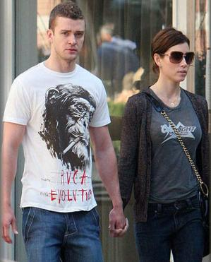 Justin Timberlake And Jessica Biel