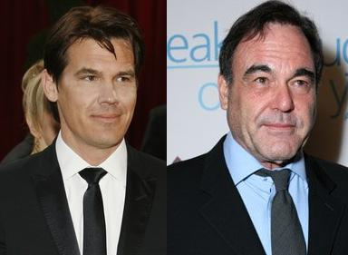 Josh Brolin And Oliver Stone