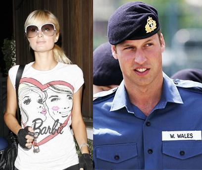 Paris Hilton And Prince William