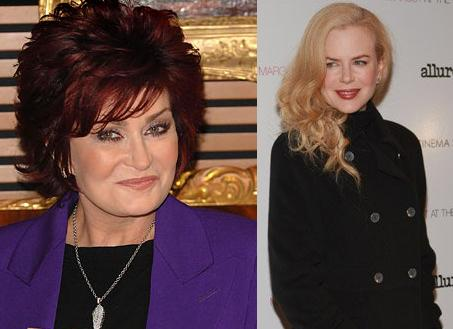 Sharon Osbourne And Nicole Kidman