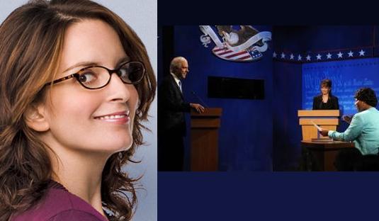 Tina Fey And SNL scene