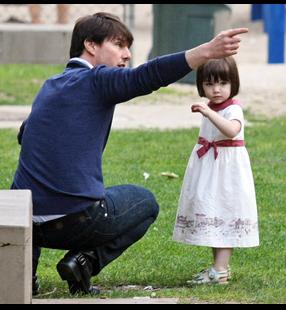 Tom Cruise And Suri Cruise