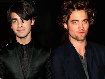 Joe Jonas And Robert Pattinson