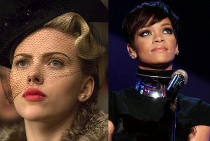 Scarlett Johansson & Rihanna