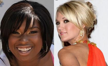 Jennifer Hudson & Carrie Underwood