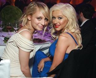 Nicole Richie & Christina Aguilera
