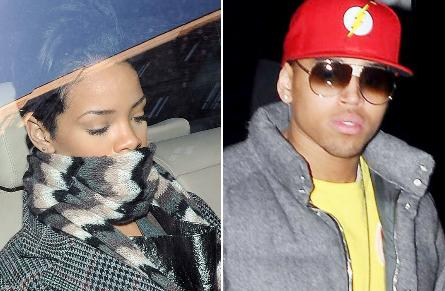 Rihanna & Chris Brow