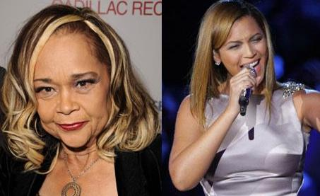 Etta James and Beyonce Knowles
