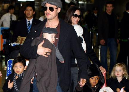 Brangelina and their four kids