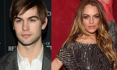 Chace Crawford and Lindsay Lohan