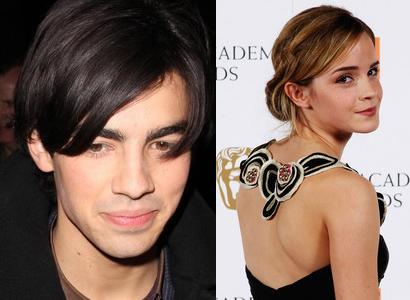 Joe Jonas and Emma Watson