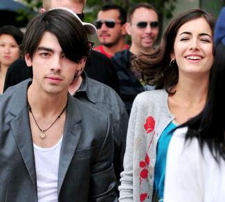 Joe Jonas & Camille Belle