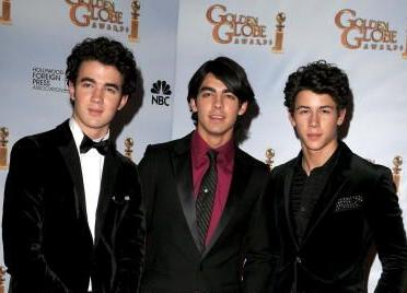 Kevin Jonas, Joe Jonas, and Nick Jonas