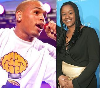 Chris Brown and Tina Davis