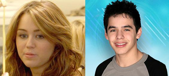 Miley Cyrus & David Archuleta