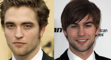 Robert Pattinson and Chace Crawford