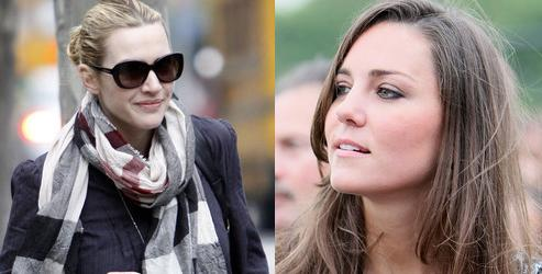 Kate Winslet & Kate Middleton
