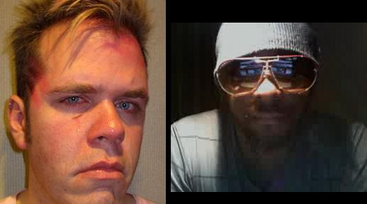 Blogger Perez Hilton (left) & Will.I.Am (right)