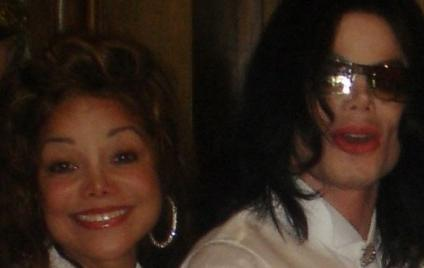 La Toya and Michael Jackson