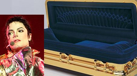 michael jackson s 25 000 gold plated coffin   sponkit