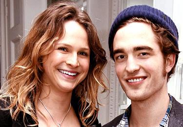 Nina and Robert Pattinson