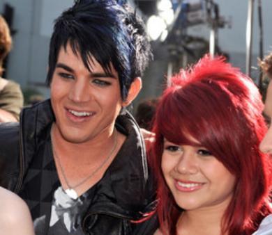 Adam Lambert & Allison Iraheta