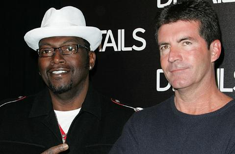 Randy Jackson and Simon Cowell