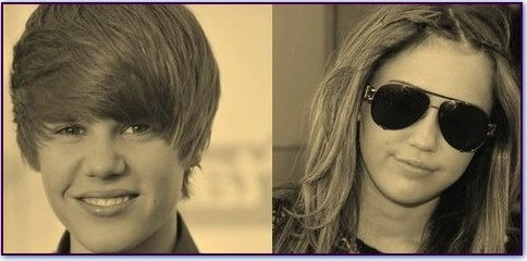 Justin Bieber & Miley Cyrus