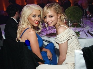 Christina Aguilera and Nicole Richie