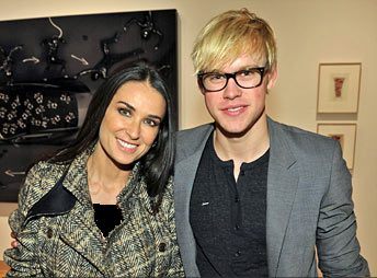 Demi Moore & Chord Overstreet