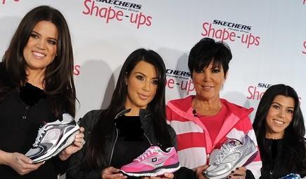 Khloe Kardashian, Kim Kardashian, Kris Jenner and Kourtney Kardashian