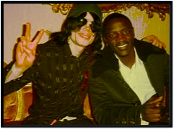 Michael Jackson And Akon