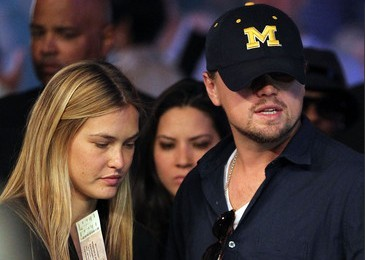 Bar Rafaeli and Leonardo DiCaprio