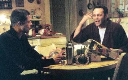 Brad Pitt and Vince Vaughn