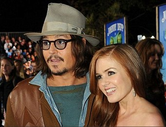 Johnny Depp And Isla Fisher