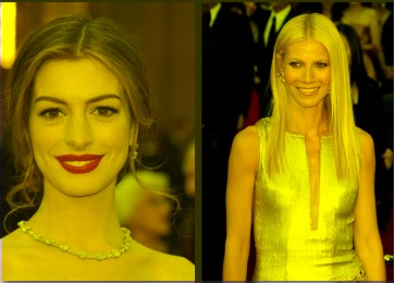 Anne Hathaway And Gwyneth Paltrow