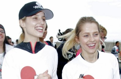 Diana Agron And Teresa Palmer