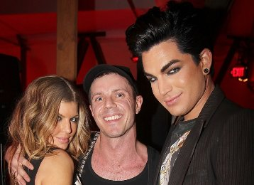 Fergie and Adam Lambert