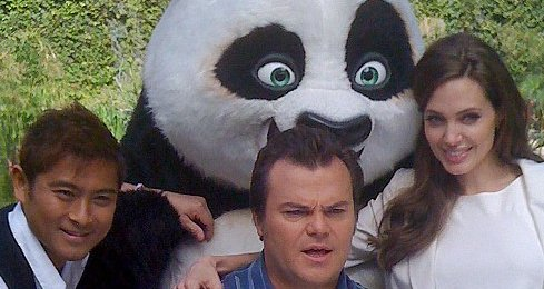 Jack Black and Angelina Jolie