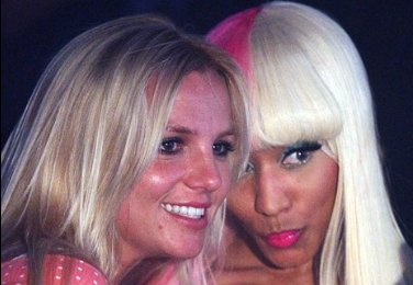 Britney Spears and Nicki Minaj