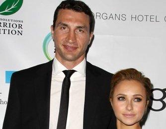 Wladimir Klitschko and Hayden Panettiere